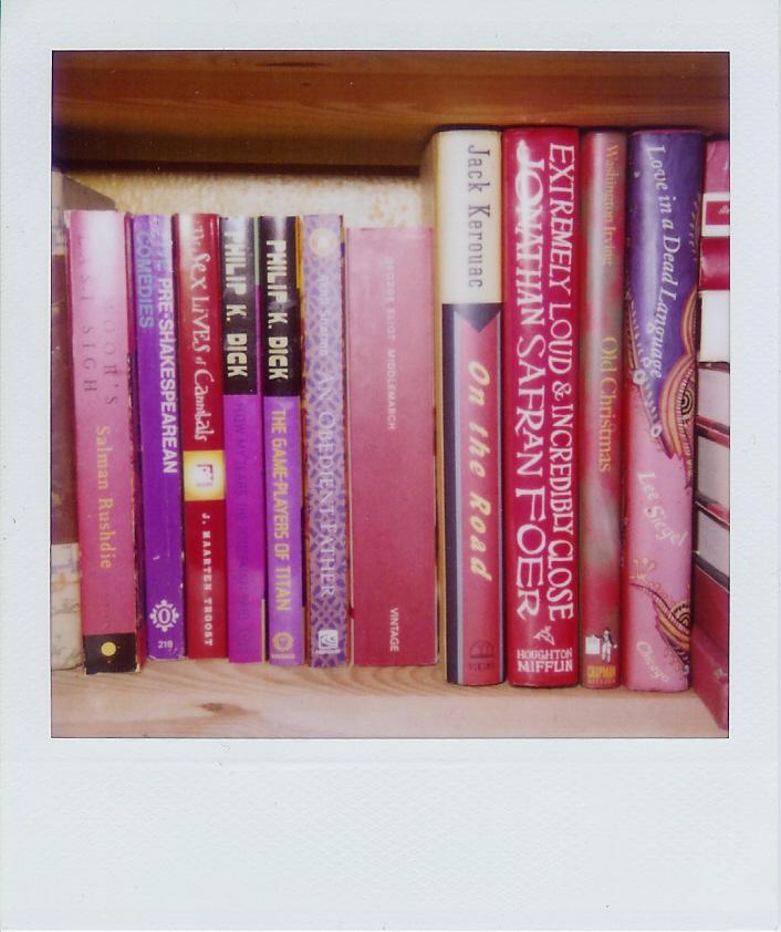 Sonya's books red