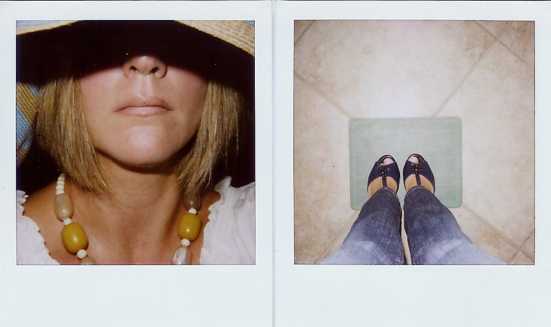 Diptych self portrait